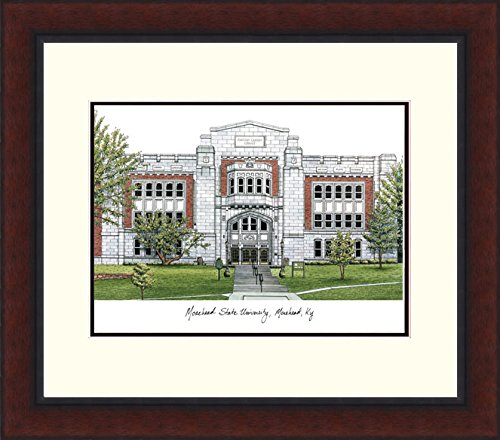 ead State University Legacy Alumnus Framed Lithographic Print ()