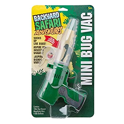 Backyard Safari Mini Bug Vac: Toys & Games