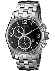 Hamilton Mens H32612135 Jazzmaster Black Dial Watch