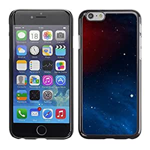 Planetar® ( Star Red Energy ) Apple iPhone 6 / 6S (4.7 inches!!!) Fundas Cover Cubre Hard Case Cover
