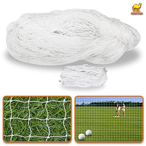 Sports Netting Replacement Nylon Barrier Net, Multi-Sport Use, Golf Net, Lacrosse, Street Hockey Netting (25' x 12')