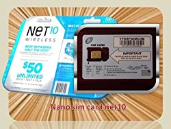 Image of the product NANO NET10 WIRELESS 4G that is listed on the catalogue brand of Net10 Wireless.