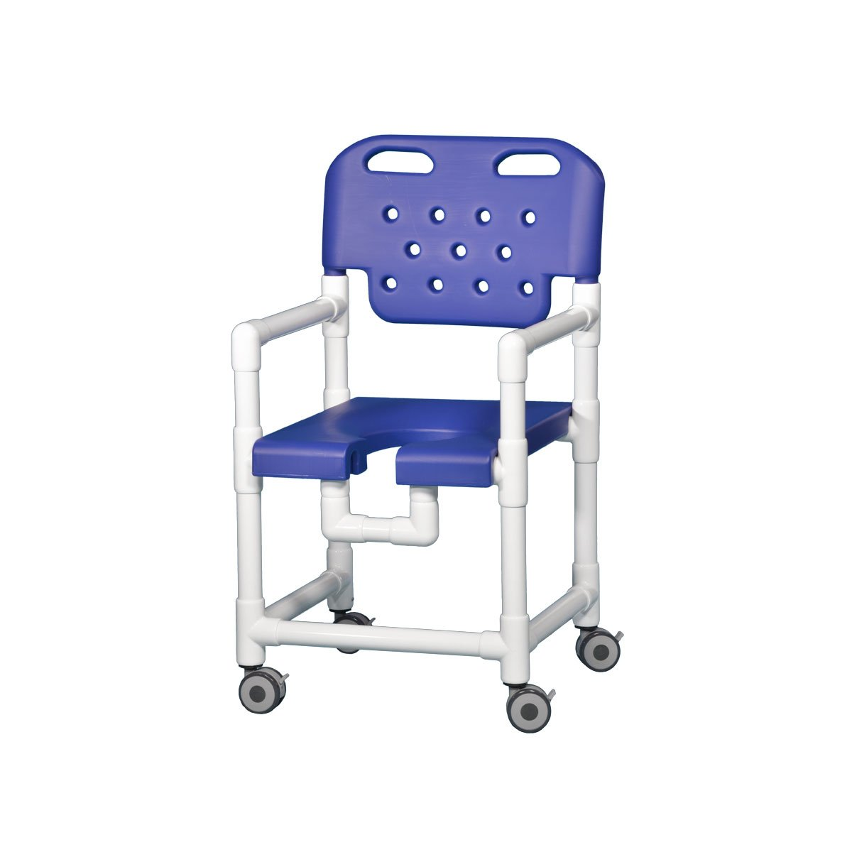 Elite Shower Chair 17'' Clearance Blue