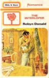 Front cover for the book The Interloper by Robyn Donald
