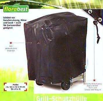 Florabest Grill Schutzhulle Plane Aus Wetterfestem Material 126 X 112 X 55 Cm