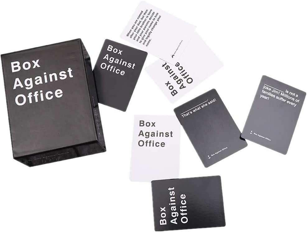 Box Against Office with 352 Cards - Party Game