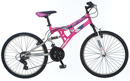 Mongoose Girls Exlipse Mountain Bike, 24''/One Size, Pink by Mongoose