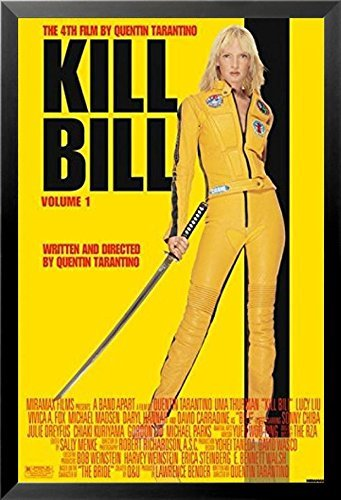 Buyartforless Framed Quentin Tarantinos Kill Bill Vol 1 Uma