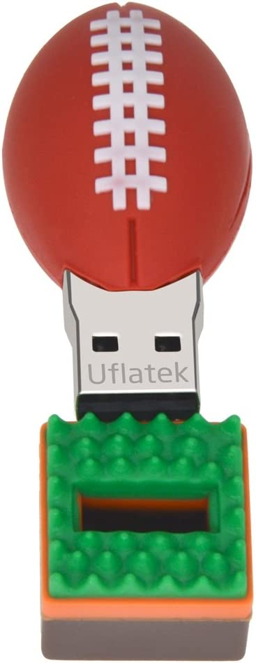 Uflatek 16 GB Pendrive Diseño Rugby Memoria USB 2.0 Flash Drive ...