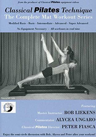 PILATES INTERMEDIATE:MAT WORKOUT