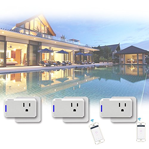 Superior Quality Mini Wifi-Enabled Smart Outlet By OOSSXX - No-Hub Wireless Plug - Compatible With Lights, Home Appliances - Remote Control With Smartphone/Tablet - Works W/Amazon Alexa by OOSSXX (Image #8)