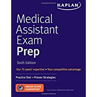 Image for Medical Assistant Exam Prep: Practice Test + Proven Strategies (Kaplan Medical Assistant Exam Review)