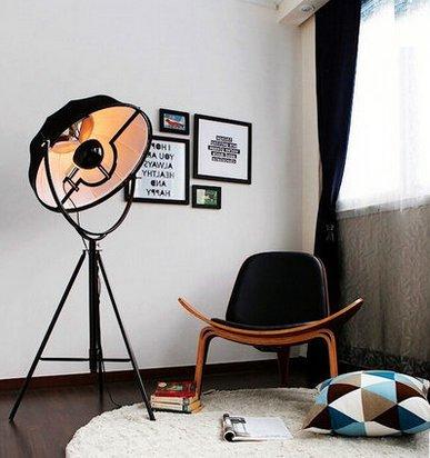CU@EY Schmiedeeiserne Stehlampe, Dekoration, lesen, H160 - 220cm