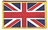 union jack patch - United Kingdom Flag, Union Jack ,Great Britain, England, British-Iron On Patch