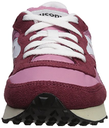 DXN Pink Burgundy Vintage Trainer Women's Saucony Sneakers HqwU5SR