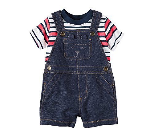 Carter's Baby Boys' 2 Piece Set Overall and Top