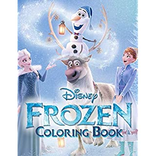Frozen Coloring Book: Let's join the wonderful world of Frozen, bring all the characters to real life