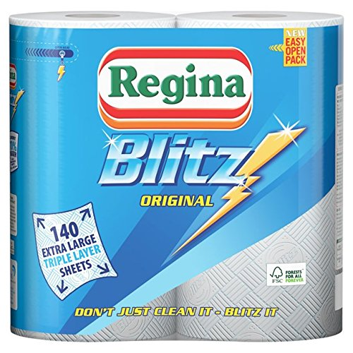 Blitz Paper - Regina Blitz Kitchen Towels 2 Rolls (3 Pack)