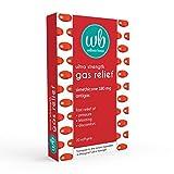 Wellness Basics Ultra-Strength Gas Relief Simethicone 180mg Soft Gel, 20 Count