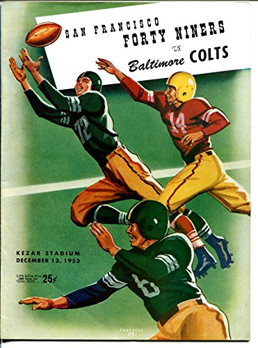San Francisco 49ers VS Green Bay Packers-NFL Program 12/13/1953-Kezar-G (Green Bay Packers Vs San Francisco 49ers)