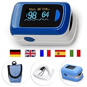 Medx5OLED pantalla a colori, pulsossimetro, pulsossimetro Da dito, dispositivo per la misurazione del polso, ossimetro, misuratore Da polso, prodotto Medico 50 unidades 16