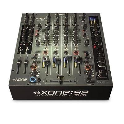 Allen & Heath Xone:92 Fader Professional 6 Channel Club/DJ Mixer With Faders from Allen & Heath