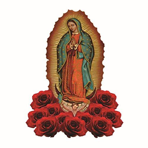Guadalupe candle virgin virgen de candles