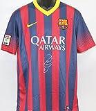 Xavi Hernandez Autographed Barcelona Soccer Jersey PSA/DNA COA