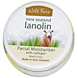 Pure lanolin facial moisturiser with collagen