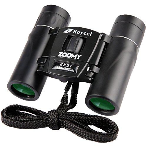 Roycel 쌍안경 콘서트 아웃도어 추천 8배 넥스 트랩(trap) 개량판 콤팩트 8×21 ZOOMY ZB8