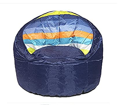 Amazing Amazon Com Heritage Kids Blue Stripped Toddler Bean Bag Pdpeps Interior Chair Design Pdpepsorg