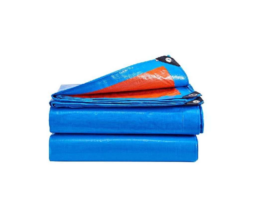 ターポリン白ヘビーデューティ防水高密度織ポリエチレン屋外ピクニックキャンプ用/マルチサイズ (サイズ さいず : 6Mx4M) 6Mx4M  B07JX7XSKY