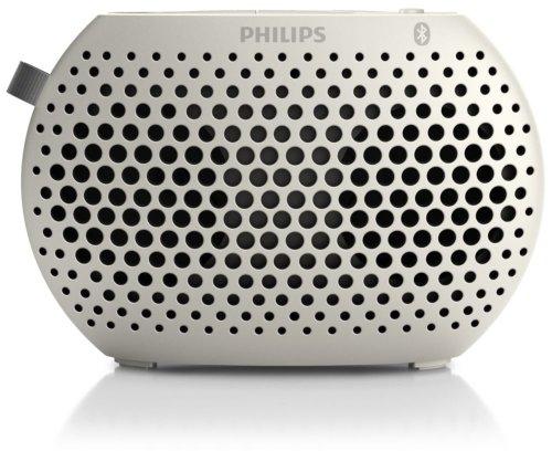 Philips Sbt10 Bluetooth Speaker white