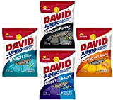 sweet spicy sunflower seeds - David's Sunflower Seeds | Variety Pack of 4 of the Most Popular Flavors | Jalapeno Hot Salsa, Ranch, Cracked Pepper, and Sweet and Salty