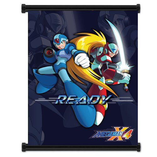 Mega Man X: Anime Game Wall Scroll Poster