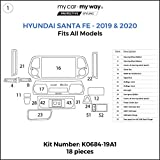MY CAR MY WAY (Fits) Hyundai Santa Fe 2019-2020