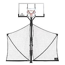 Silverback Basketball Yard Guard, White/Black, Large
