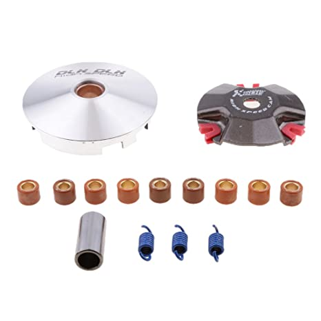 Amazon.com: Dovewill Variator Set For YAMAHA JOG 50cc Zuma BWS MBK Minarelli Vento Baja ATV 50: Automotive