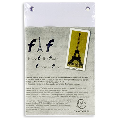 Exacompta Faf Desk Refill Pad Only No.3 Blank
