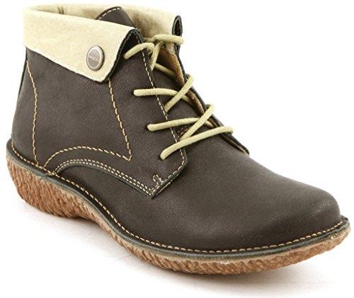 Comfortiya Womens Leather Casual Platform product image