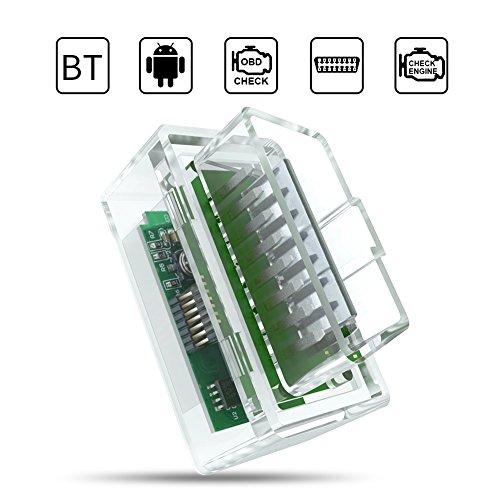 Bluetooth OBD2 Scanner - New Upgraded Wireless ...
