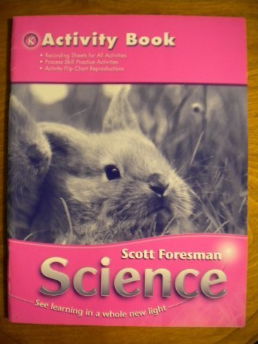 SCIENCE 2006 ACTIVITY BOOK GRADE K
