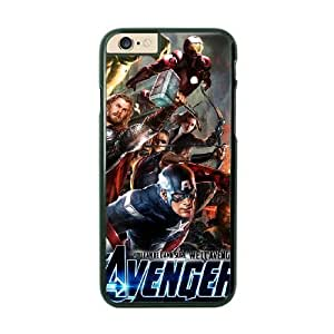 iPhone 6 Black Cell Phone Case The Avengers Logo STY791135 Phone Case For Women