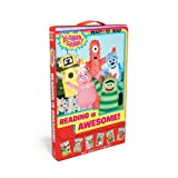 img - for Reading Is Awesome!: A Best Friend for Foofa; Friends Are Fun!; Fun with Plex; Mystery in Gabba Land; Super Gabba Friends!; The Gabba Land Band (Yo Gabba Gabba!) by Various (2014-09-30) book / textbook / text book