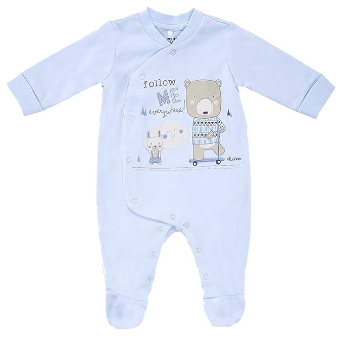 vasta selezione dal costo ragionevole design professionale chicco,tutina neonato imbo/bimba (celeste, 6 mesi): Amazon ...