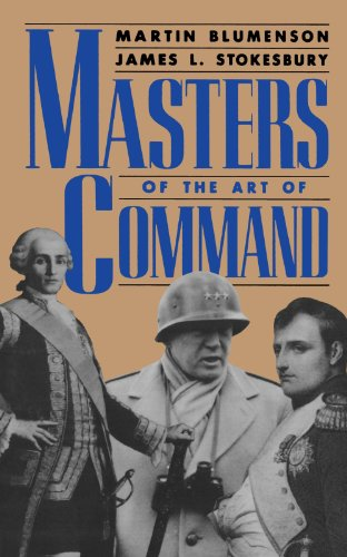 Masters Of The Art Of Command (A Da Capo paperback)