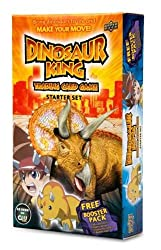 The Dinosaur King Trading Card Game is an action-packed, fun, easy-to-play TCG based on the exciting Dinosaur King TV series! The stars of the show, Max, Rex, and Zoe, search all over the world for lost Dinosaur cards that have the power to bring din...