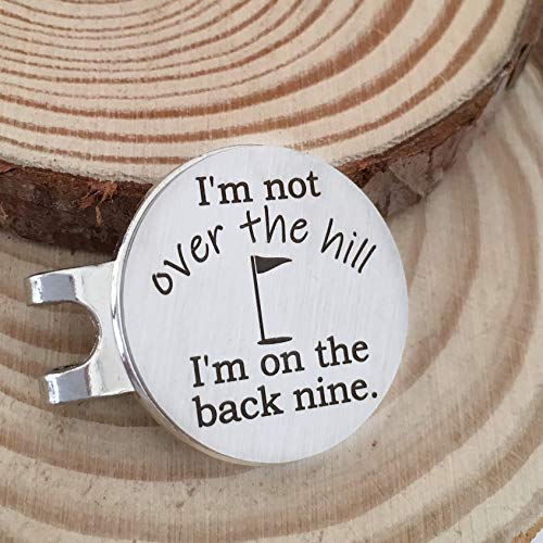 Over the hill Funny 40th Birthday Gift for Golfer -