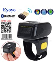 Eyoyo Mini Bluetooth Wearable Ring 2D Scanner Barcode Reader For IOS Android Windows