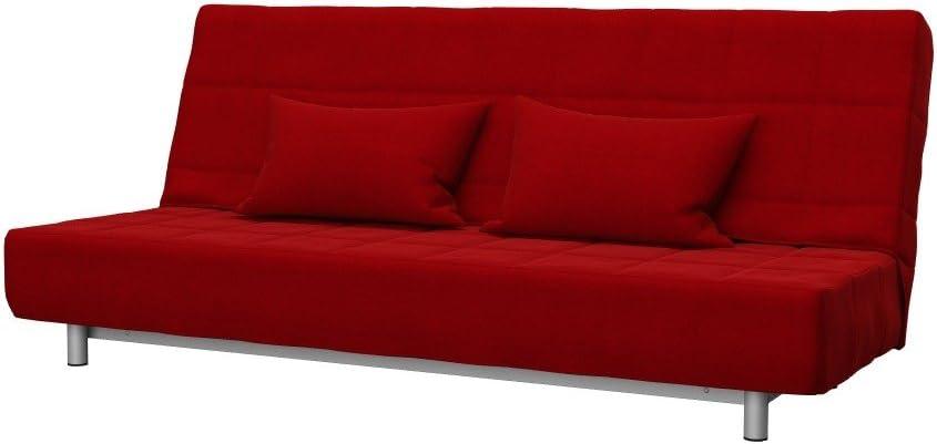 3 Posti Divano Letto Ikea Beddinge.Soferia Fodera Extra Ikea Beddinge Divano Letto A 3 Posti Tessuto Elegance Red Amazon It Casa E Cucina